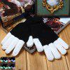 6-Mode LED Glowing Gloves - WHITE AND BLACK