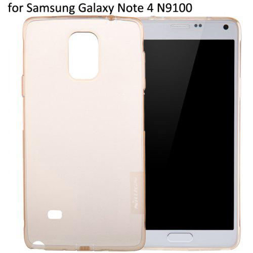 Nillkin Transparent TPU Phone Protective Back Cover Case with Ultrathin Design for Samsung Galaxy Note 4