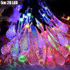 5m 20 LEDs Solar String Light for Xmas Party - COLORFUL