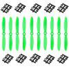 EMAX H250 H280 Multirotor Quadcopter Fittings KSX123 6045 5 x CW 5 x CCW Blade - BLACK AND GREEN
