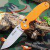 Ganzo G727M - OR Foldable Knife with Axis Lock and Clip - ORANGE