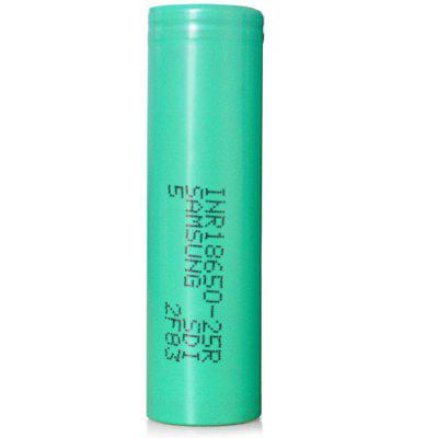 INR18650 - 25R 2500mAh 30A 3.7V 18650 Li-ion Battery
