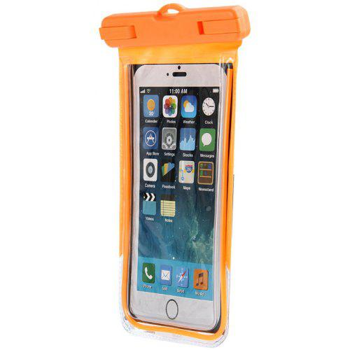 timeless design 2791c 1afee Clear Water Resistant Phone Pouch for iPhone 6 / 6 Plus / 6S Samsung Note 5  S6 Edge Plus etc.
