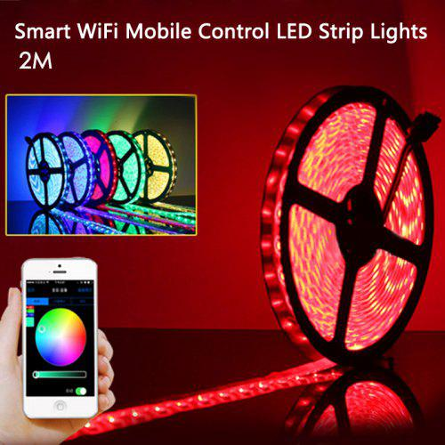 205952825f67 Smart WiFi Mobile Control LED Strip Lights | Gearbest