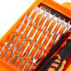 JAKEMY JM-8100 32 in 1 Screwdriver Repair Tools Set - BLACK AND ORANGE
