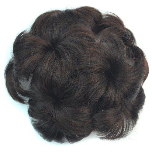 Fluffy Short Synthetic Hair Sweet Flower-Shaped Chignon with Comb For Women  -  11.26 Free Shipping bc962f4c46