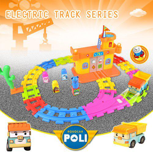 Vehicle Robocar Police Poli Children Tiny Bedroom Korea Gift Game With Track Railway OuPkZXi