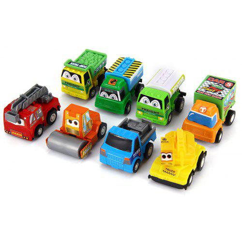 2pcs Candy Color Cars Toy for Child Mini Car Model Kids Toys for Baby Gift  X