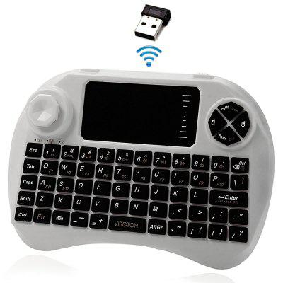 Viboton 2.4GHz Mini Wireless Keyboard Fly Air Mouse Touchpad