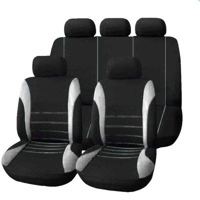 T21620 Universal Car Seat Cover 9 Set Full Seat Covers for Crossovers Sedans