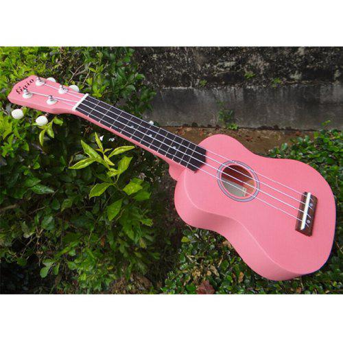 21 Ukulele Basswood Body and Basswood Fingerboard 4 Nylon Strings Musical Instrument for Beginners with a Bag Natural Strap Pick Wiper Tuner String