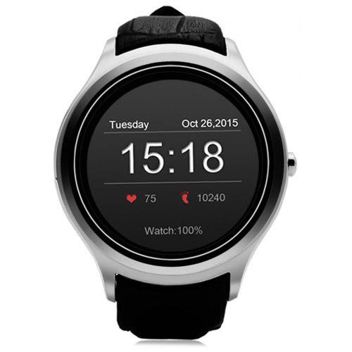 NO.1 D5 Android 4.4 Smart Watch WIFI GPS Smartwatch - $86.48 Free Shipping|GearBest.com