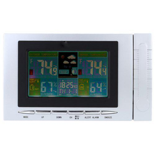 Thermometer Hygrometer Humidity LCD Display Weather Station Alarm TS-H127G