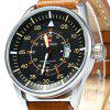 NAVIFORCE NF9044 Quartz Men Watch - BROWN