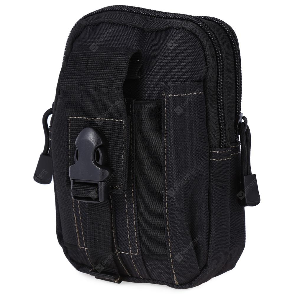 Outlife Tactic Molle Water-proof Outdoor Sports Waist Bag - BLACK