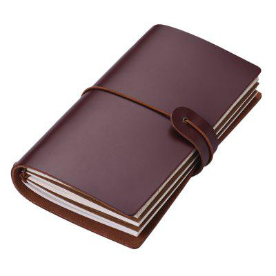 SP1359 Creative Vintage Leather Notebook Travel Diary Book