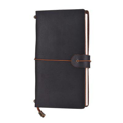 SP1360 Creative Vintage Leather Notebook Travel Carved Diary Book
