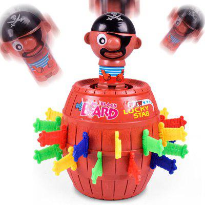 Funny Novelty Children Lucky Game Tricky Pirate Barrel toy