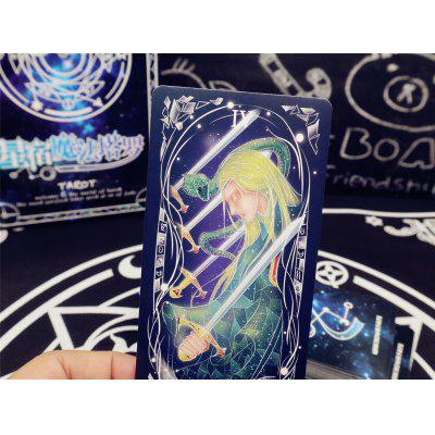 Star Magic Tarot Cards Esportes Lazer Família Entretenimento Divination Board Toy Set