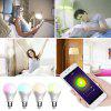 Utorch BW - 5 E27 Voice Control Smart WiFi Colorful Light Bulb - WHITE