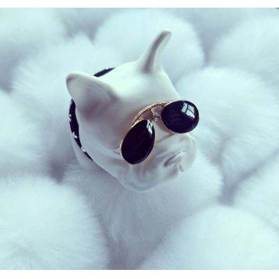 JSXX - 007  Aromatherapy Ornaments Dog Head Car Outlet Perfume Clip