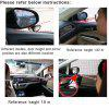 Visible Front Wheel Double-side Blind Spot Mirror - WHITE