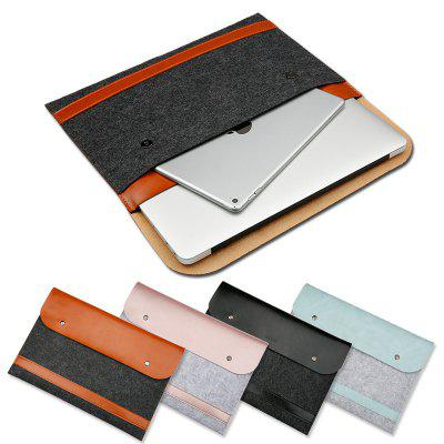 13,3 polegadas Feltro PU Notebook Bag para MacBook Air / Pro
