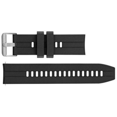 Alfawise 22 mm Silicone Watchband Výměnný Watch popruh pro Watch 6 47mm inteligentní Watch