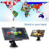 FLOUREON 7 Inch Touch Screen Truck Car GPS  Free EU UK Maps 8GB
