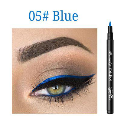 DNM color eyeliner waterproof and quick-drying black eyeliner pen natural color is not blooming