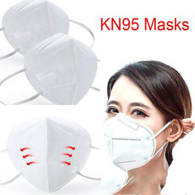 100pcs KN95 Anti-dust mask Anti-fog and breathable masks 99 Filtration oral mask Anti Smog strong