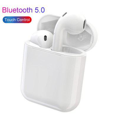 i13 TWS Touch Control Bluetooth Earphones Super Bass Stereo Earbuds