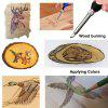 60w 110 220V Adjustable Soldering Iron Carving Pyrography Tool Wood Embossing Burning