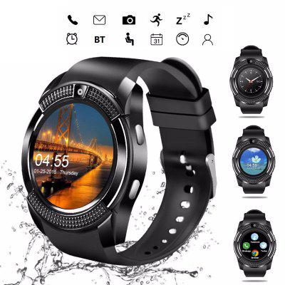 LEEHUR V8 Bluetooth Smart Watch Band Touch Screen Wristband Sport Smartwatch