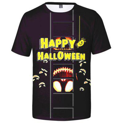WAWNI Fashion Happy Halloween T Shirt 3D Print Hip Hop Streetwear Top