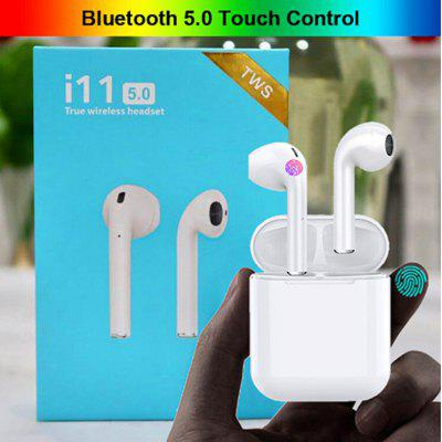 I11 Mini 5.0 Bluetooth Headset Wireless Headset Portable Invisible Headphones for all smartphones