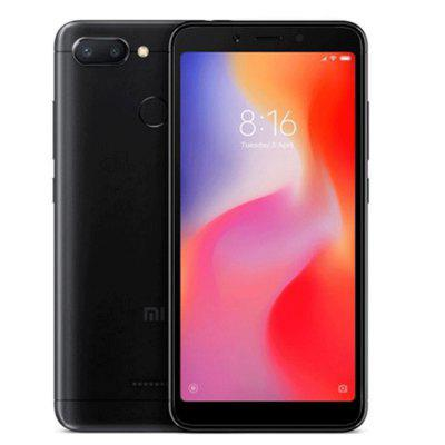Xiaomi Redmi 6 4G Smartphone Global Version 3GB RAM 32GB ROM 12MP 5MP Rear Camera EU stock Image