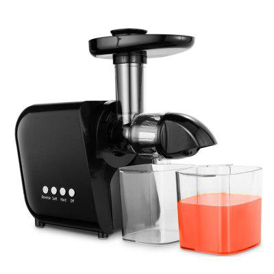 HOMDOX Juicer Slow Masticating Fruit Vegetable Electric Cold Press Juice Extractor