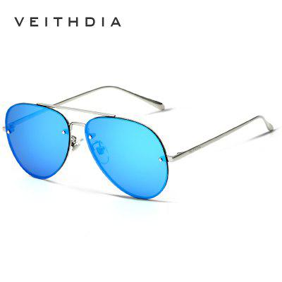 VEITHDIA Unisex Sun Glasses Polarized Coating Mirror Sunglasses Male Eyewear For Men Women 3811