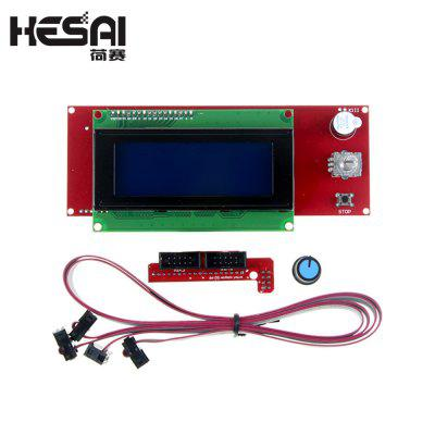 HESAI LCD 2004 LCD Display Intelligent Component Controller for 3D Printer Suite
