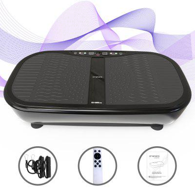Vibration Plate 3D Slim Vibrating Power Machine with Remote Control and Resistance Bands