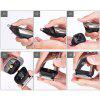 New Washable Kemei 6in1 Rechargeable Hair Trimmer Titanium Hair Clipper Electric Shaver