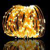 ZDM 10M 100 LEDs Three Copper Filament Lamp Strings USB With switch