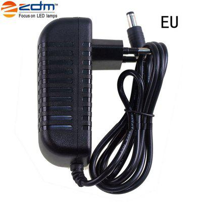 2pcs 12V 2A 24W Power Supply AC Adapter 100-240V to DC 12 Volt Transformers 2.1mm X 5.5mm Wall Plug