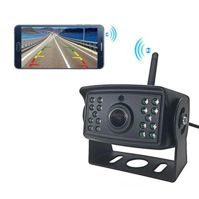 W103 Car Night vision wireless WiFi backup camera compatible with IOS Android devices