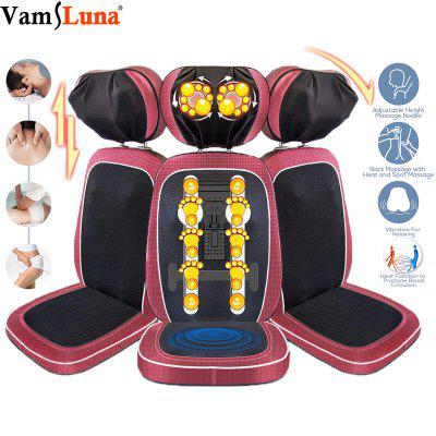 Massage Seat Cushion Shiatsu Neck Shoulder and Back Massager Chair Pad