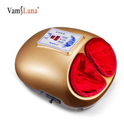 Smokeless Moxibustion Aromatherapy Moxa Red LED Light Device Foot Massager With Heat