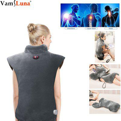 Multifunctional Massager Vibration Heating Electric Pad Waist Neck Soft Neck Shoulder Therapeutic