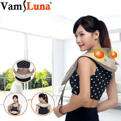 Back Neck and Shoulder U Shape Shiatsu Infrared Massager Body Kneading Shawl Car Office