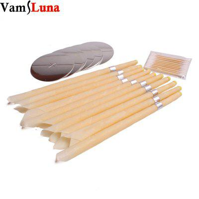 100X Smoke Free Natural Beewax Ear Candle Ear Waxing Cone Without Pesticide Residue